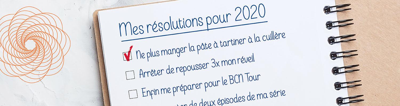 Mes résolutions pour 2020