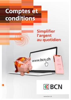 Vignette brochure Comptes et conditions