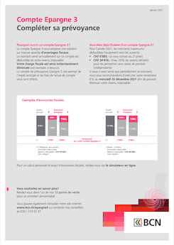 Vignette brochure Informations Epargne 3