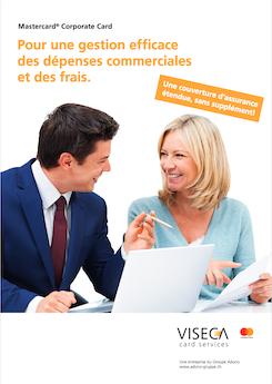 Vignette brochure Brochure Corporate Card BCN