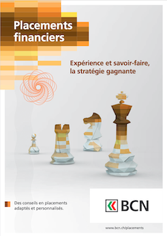 Vignette brochure Placements financiers