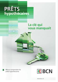 Vignette brochure Les prêts hypothécaires