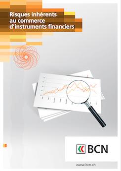 Vignette brochure Risques inhérents au commerce d'instruments financiers